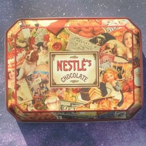 Vintage 1999 Nestle Chocolate Tin Container